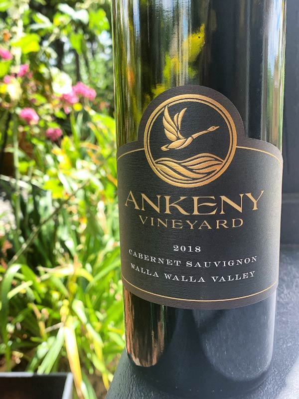 2018 Cabernet Sauvignon from Ankeny Vineyard