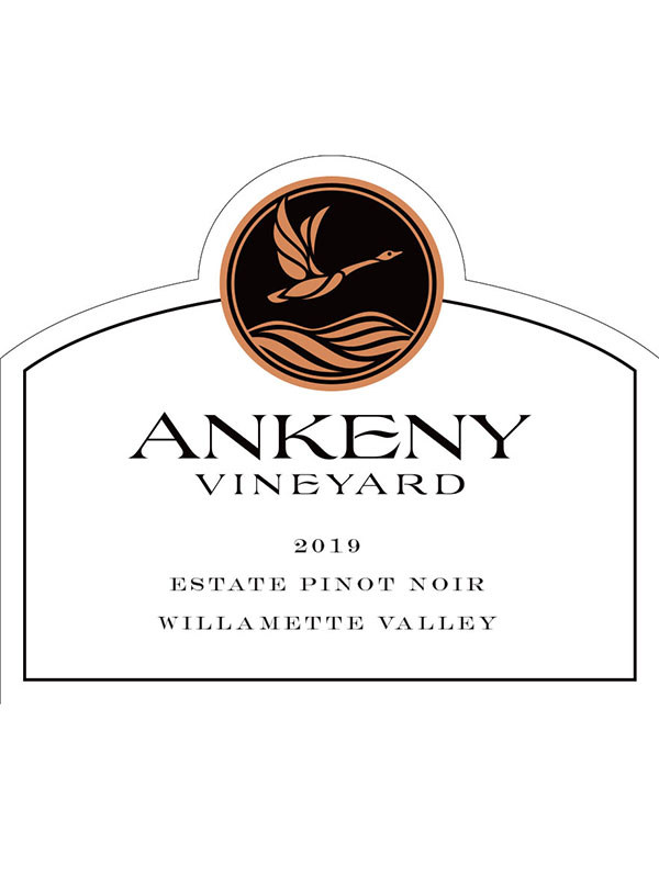 2019 Pinot Noir Estate from Ankeny Vineyard