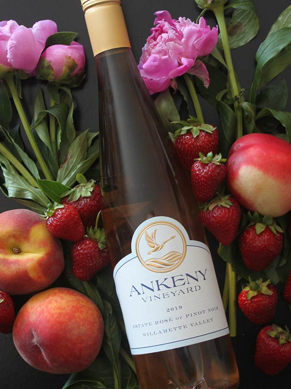 2019 Rosé of Pinot Noir from Ankeny Vineyard