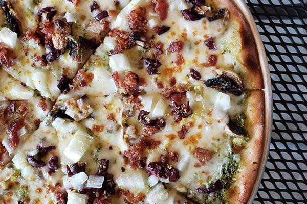 Mediterranean Wood Fired Pizza at Ankeny Vineyard