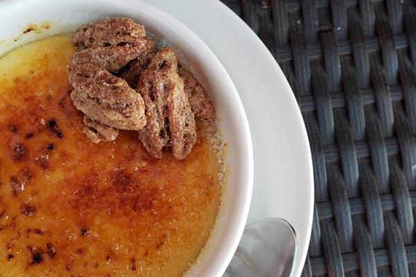 Crème Brûlèe from Ankeny Vineyard