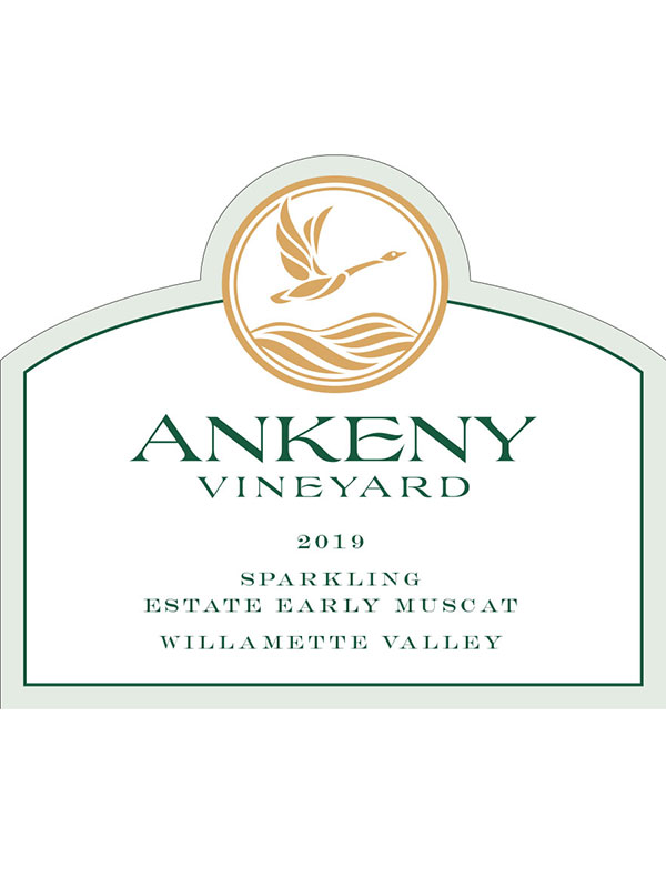 2019 Sparkling Early Muscat from Ankeny Vineyard